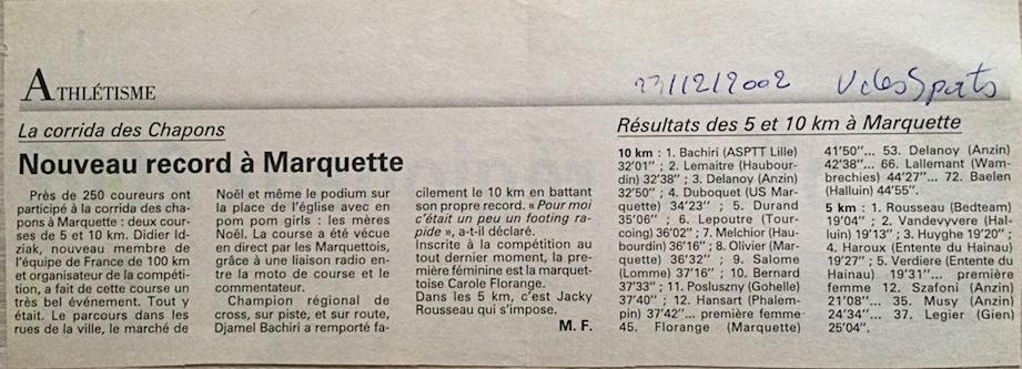 corrida 2002